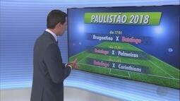 Botafogo-SP estreia em 16 de janeiro no Paulistão 2018