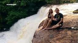 Parte 3: Dupla chega na cachoeira e mostra as belezas do lugar