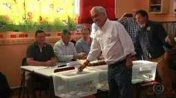 Chilenos vão às urnas para escolher novo presidente