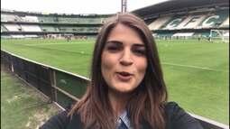 Por dentro do treino: Gabriela Ribeiro conta tudo do treino do Paraná no Couto