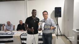 Vozão TV - Os ex-atletas Petróleo e Josué foram homenageados pelo Clube