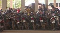 Detran do AP faz leilão de 333 veículos, entre carros e motos, autorizados a circulação
