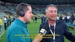 """Técnico do Independiente diz que título no Maracanã é """"um sonho"""""""