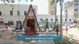 """Catedral de Cuiabá terá projeção de filme em """"natal iluminado"""""""