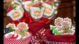 Confira a receita de biscoitos decorados para enfeitar a ceia de Natal