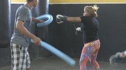 'MMA Fit': modalidade de mulheres que buscam manter a forma em RR