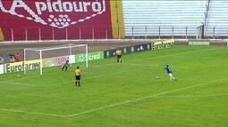 Os pênaltis de Cruzeiro 1 (3x1) 1 Rio Branco-SP pela Copa SP de Futebol Júnior
