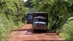 Pecuaristas reclamam de condições de estradas em Rondonópolis