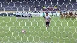 Os pênaltis de Corinthians 1 (4) x (1) 1 Sport pela segunda fase da Copa SP de Futebol Jr