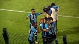 Os gols de Grêmio 2 x 0 Guarulhos pela segunda fase da Copa São Paulo de Futebol Jr