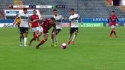 Melhores momentos de Flamengo 1 x 0 Coritiba pela Copa SP de Futebol Júnior