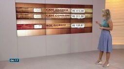 Café arábica fecha a R$ 414 a saca no Espírito Santo nesta terça-feira (16)