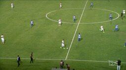 CSA e Sampaio Corrêa empatam por 1 a 1 no Estádio Rei Pelé