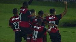 Gol de Avaí 0 x 1 Flamengo pelas quartas de final da Copa SP de Futebol Júnior