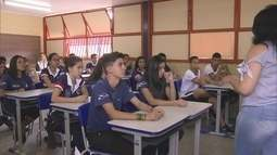 Quatro mil estudantes da rede pública participam de projeto para preservar as escolas