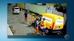 Criminosos roubam carro dos Correios nesta sexta-feira (19) na zona Norte de Natal