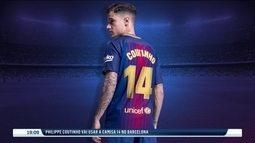 Philippe Coutinho vai vestir a camisa 14 no Barcelona, que foi de Cruyff e Henry