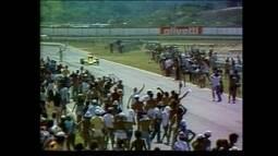 Em 1978, é inaugurado o Autódromo de Jacarepaguá com 2º lugar de Emerson Fittipaldi