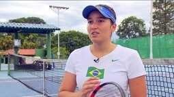 Tenista paralímpica, Natália Mayara comenta preparação para Tóquio 2020