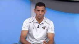 """Diego Souza tenta explicar saída do Sport: """"Era feliz e vivia em uma cidade maravilhosa"""""""