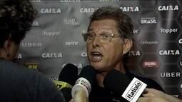 Redação repercute discussão entre Oswaldo de Oliveira e repórter após jogo do Atlético-MG