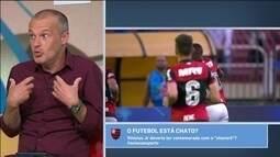 Sérgio Xavier diz que fazer um gol tem que dar direito ao jogador de extrapolar