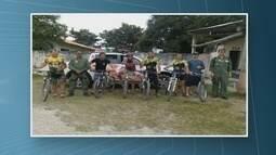 Seis ciclistas são resgatados após se perderem em área de mata ao Norte de Roraima