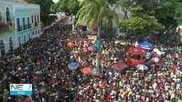 Carnaval de Olinda reúne 3,2 milhões de foliões