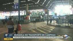Linhas do Terminal Central de Campinas não aceitarão pagamento em dinheiro