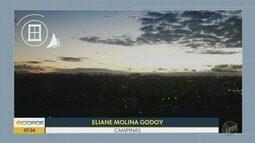'Na Janela': veja o nascer do sol registrado por nossos telespectadores nesta sexta-feira