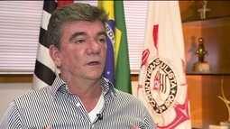 Andrés Sanchez defende Corinthians no caso de empréstimo para construção da Arena
