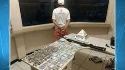 Homem é preso com drogas no Bairro Monte Sião em Montes Claros