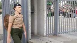 Histórico! Pela primeira vez, mulheres ingressam em curso de cadetes da Aman