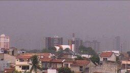 Final de semana com chuva em Sergipe