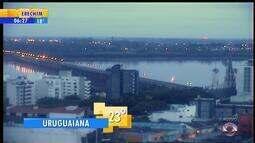 Tempo: confira o amanhecer no interior do RS nesta segunda-feira (19)