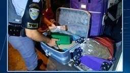 Polícia apreende 'super maconha' em ônibus
