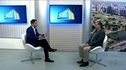 Presidente do Ibama fala sobre estudo realizado sobre avanço do mar contra igreja