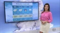Confira a previsão do tempo para esta terça-feira (20) no Sul de Minas