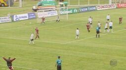 Caldense perde de 2 a 0 para o Patrocinense pelo Campeonato Mineiro