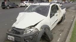 Duas pessoas morrem após serem atropeladas por motorista embriagado, em Manaus