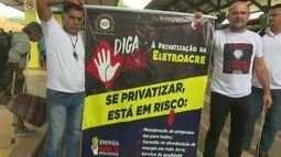 Em Rio Branco, sindicatos protestam contra reforma da Previdência