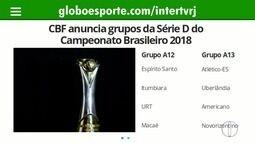 CBF divulga tabela do Brasileirão; atual campeão, Corinthians estreia contra o Flu