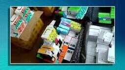 Carga de celulares e perfumes é apreendida em Gurupi