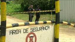Militares ajudam agentes penitenciários em varredura em presídio no RJ