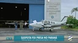 Polícia prende em Foz do Iguaçu, mulher que teria envolvimento no assassinato de personal