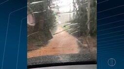 Forte chuva causa novos transtornos em Petrópolis, no RJ