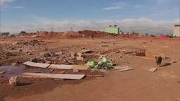 Galpão de supermercado é finalmente demolido em Ceilândia