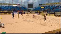 Etapa 5 do Circuito Brasileiro de vôlei de praia já agita as areias do Cabo Branco