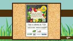 Confira a lista de locais onde são realizadas feiras de produtos orgânicos em Salvador
