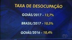Desemprego em Goiás é o mais alto desde 2012, aponta IBGE